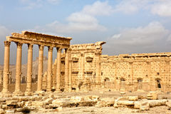 La Syrie - Palmyra (Tadmor) Photo stock