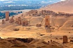 La Syrie - Palmyra (Tadmor) Image stock