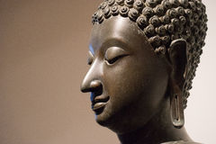 La tête de Bouddha Image libre de droits
