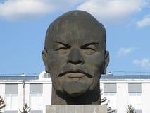 La tête de Lénine Images stock