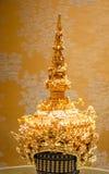La tête de la femelle orientale thaïlandaise Photo stock