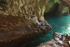 La tête de la grotte Image libre de droits
