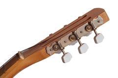 La tête de la guitare Photo stock