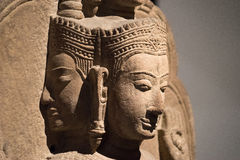 La tête de Siva Image stock