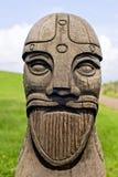 La tête de Viking Photographie stock