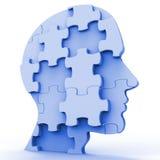 La tête denteuse représente des plans Person And Piece Image stock