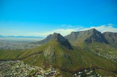 La tête du lion (Capetown, Afrique du Sud) photo stock
