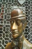 La tête du monument de Shelle des airs et du Chelle à Cologne Images libres de droits
