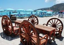 La Tabella della spiaggia Fotografia Stock Libera da Diritti