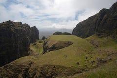 La Tabella, Quirang, Skye immagini stock libere da diritti