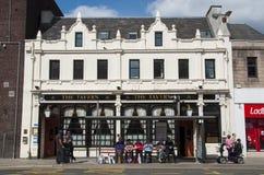 La taberna Perth Escocia Imagen de archivo libre de regalías