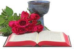 La tabla de los señores: símbolos cristianos imágenes de archivo libres de regalías