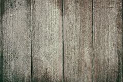 La tabla de madera superficial del vintage y el grano rústico texturizan el fondo Foto de archivo libre de regalías