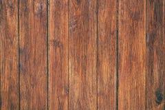La tabla de madera superficial del vintage y el grano rústico texturizan el fondo Imagenes de archivo