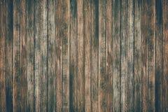 La tabla de madera superficial del vintage y el grano rústico texturizan el fondo fotos de archivo