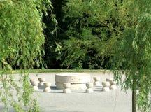 La tabla de silencio, Constantin Brancusi Imagen de archivo