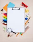 La tablilla del papel imagen de archivo libre de regalías