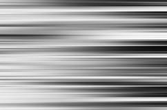 La tache floue de mouvement noire et blanche horizontale lambrisse le fond photographie stock