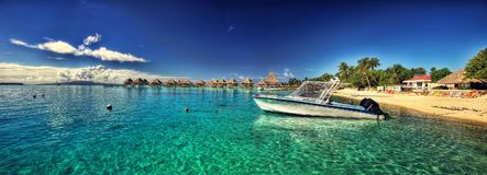 La Tahiti, Polinesia francese fotografia stock