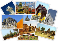 La Tailandia antica Immagini Stock Libere da Diritti