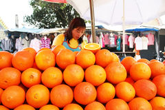 La Tailandia arancio Fotografie Stock Libere da Diritti