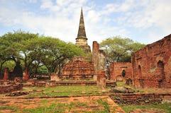 La Tailandia Ayutthaya Phra Sri Sanphet Immagine Stock Libera da Diritti