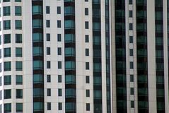 La Tailandia, Bangkok, Asia, dettagli dei palazzi del distretto di ufficio sottrae il riflesso moderno del grattacielo del terraz Fotografia Stock Libera da Diritti