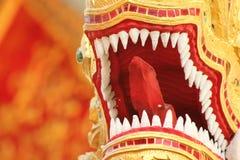 La Tailandia Bangkok Dragon Temple Fotografia Stock Libera da Diritti