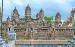 La Tailandia Bangkok il grande palazzo immagine stock