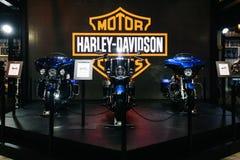La Tailandia, Bangkok - 31 marzo 2018: Il motorcycl di Harley Davidson immagine stock libera da diritti
