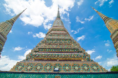 La Tailandia - Bangkok - tempiale - Wat Pho Fotografia Stock Libera da Diritti