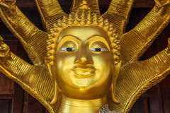 La Tailandia Buddha vecchio Immagine Stock Libera da Diritti