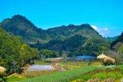La Tailandia di stupore con la montagna Fotografie Stock Libere da Diritti