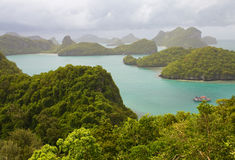 LA TAILANDIA, KO SAMUI Fotografia Stock