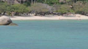 La Tailandia Ko Tao Island video d archivio