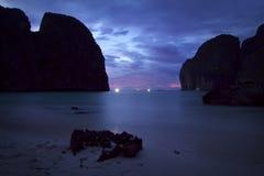 La Tailandia: La spiaggia Immagini Stock Libere da Diritti