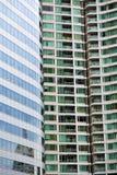la Tailandia nel terrazzo dei palazzi del distretto di ufficio di Bangkok Fotografia Stock