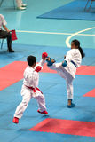 La Tailandia Open Karatè-fa campionato 2013 Immagine Stock