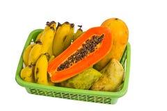 Papaia Tailandia del mango della banana della frutta. Fotografia Stock Libera da Diritti