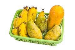 Papaia Tailandia del mango della banana della frutta. Immagine Stock
