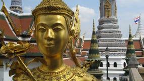 La Tailandia Royal Palace, Bangkok, Wat Phra Kaew Fotografia Stock