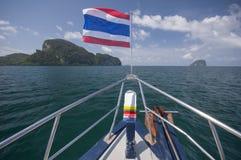 La Tailandia tranquilla Fotografie Stock Libere da Diritti