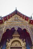 La Tailandia ?Wat Den Salee Sri Muang Gan nominato tempio Wat Ban Den ? fotografia stock