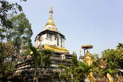 La Tailandia Wat Ku Kan Fotografia Stock