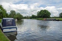 La Tamise chez Abingdon, Oxfordshire photo libre de droits