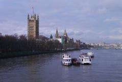 La Tamise - Londres photographie stock