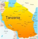 La Tanzania Fotografie Stock Libere da Diritti