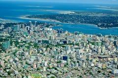 La Tanzania aerea Fotografie Stock