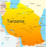 La Tanzanie illustration libre de droits