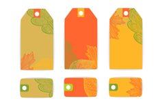 La tarjeta de la etiqueta de la etiqueta sale de venta Imagen de archivo libre de regalías